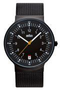 【日本正規代理店品】 ブラウンBRAUNリストウォッチ  腕時計  BNH0082BKBKMHG