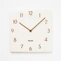 陶器の風合いがうれしい! 掛け時計 CHAMBRE TOUKI WBR