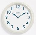 アンティーク調でシンプル! 掛け時計 CHAMBRE  British Round ホワイト CH011WH