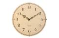 お部屋をお洒落に彩る ドーム掛け時計 CHAMBRE ビーチウッド CH-013BC