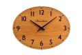 お部屋をお洒落に彩る オーバルドーム掛け時計 CHAMBRE  CH018OA  R-CLOCK GC-STYLE