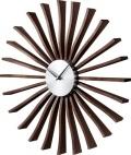 斬新なデザインで壁面を飾る 掛け時計 Flutter  Clock GN001 ジョージネルソン