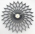 Sunflower  掛け時計 サンフラワークロック ブラック GN304BK  ジョージネルソン 壁掛け時計
