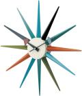 斬新なデザインで壁面を飾る 掛け時計 SUNBURST GN396C ジョージネルソン