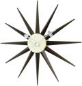 斬新なデザインで壁面を飾る 掛け時計 SUNBURST GN396WB ジョージネルソン
