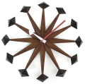 斬新なデザインで壁面を飾る 掛け時計 Polygon クロック GN216 ジョージネルソン
