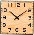 重厚感があるアイアンフレームが魅力です!HOMMAGE掛け時計 オーク  CHAMBRE HG017OA