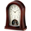 木の暖かさと優しさを感じます!セイコー置時計エンブレム  SEIKO電波置き時計 HW545Z