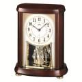 木の暖かさと優しさを感じます!セイコー置時計エンブレム  SEIKO電波置き時計 HW566B