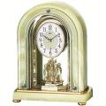 重厚な佇まいで悠然と時を刻む風格のオニキス・クロック!セイコー置時計エンブレム SEIKO電波置き時計 HW575M