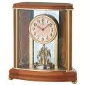 暖かみを感じる木製フレームが素敵です!セイコーメロディ置時計エンブレム  SEIKO電波置き時計 HW577B
