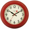 レトロ調でお洒落!ロジャーラッセルRogerLascelles社製 掛け時計 LON-LASC-RED