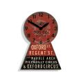 レトロデザインがお洒落です!NEW GATEニューゲート掛け時計 OXFORD STREET BUS OXFR42