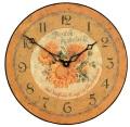 アンティーク調でお洒落!ロジャーラッセルRogerLascelles社製 掛け時計 PUB-SOLEIL ひまわり