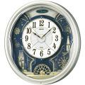 文字盤がダイナミックに動きます!からくり時計ウエーブシンフォニー RE561H セイコー SEIKO電波時計