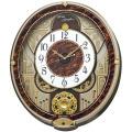 文字盤が二つに割れます!からくり時計ウエーブシンフォニー RE568B セイコー SEIKO電波時計