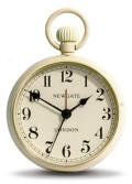 レトロな懐中時計デザイン!NEW GATEニューゲート アラームクロック  REGULATOR クリーム