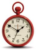 レトロな懐中時計デザイン!NEW GATEニューゲート アラームクロック  REGULATOR レッド