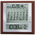 マンスリーカレンダークロック!セイコーデジタル電波置き掛け兼用時計 SEIKO SQ421B