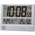 プログラム機能付き 大型デジタルクロック!セイコーデジタル電波置き掛け兼用時計 SEIKO SQ434S