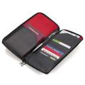 ラウンドファスナー付トラベルケース、パスポートケース レッドペッパー [TRV62-LE] トロイカ