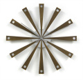 斬新なスタイルのインハウスSUNウォールクロック ウォルナット INHOUSE(インハウス)掛け時計 W3W