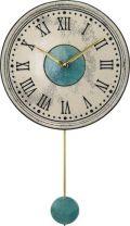 陶器の温かさとイタリアンアートに溢れる魅力! アントニオ・ザッカレラ Antonio Zaccarella 陶器振り子時計ZC121-003 掛け時計