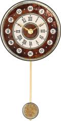 陶器の温かさとイタリアンアートに溢れる魅力! アントニオ・ザッカレラ陶器振り子時計ZC174-009