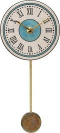 陶器の温かさとイタリアンアートに溢れる魅力! アントニオ・ザッカレラ陶器振り子時計ZC175-003