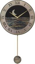 陶器の温かさとイタリアンアートに溢れる魅力! アントニオ・ザッカレラ Antonio Zaccarella 陶器振り子時計ZC181-004 掛け時計