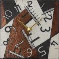 陶器の温かさとイタリアンアートに溢れる魅力! アントニオ・ザッカレラ陶器 置き掛け兼用時計 ZC188-009