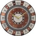 陶器の温かさとイタリアンアートに溢れる魅力! アントニオ・ザッカレラ陶器 掛け時計 ZC901-009