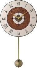 陶器の温かさとイタリアンアートに溢れる魅力! アントニオ・ザッカレラ Antonio Zaccarella 陶器振り子時計ZC911-003 掛け時計