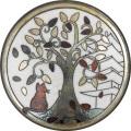 陶器の温かさとイタリアンアートに溢れる飾り皿! アントニオ・ザッカレラD003陶器飾り皿 ZD003-009