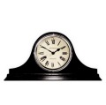 天然木でアンティーク調デザインがお洒落! NEWGATEニューゲート 置時計 Brompton ブラック BRO94K