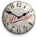 アンティーク調仕上げが魅力です! NEW GATEニューゲート掛け時計 ESPRESSO ADVERTISING Wall Clock ESPCON50