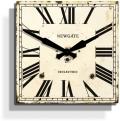 お洒落なスクエアデザイン! NEW GATEニューゲート掛け時計 Lawer's Wall Clock クリーム LAW382AC