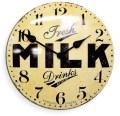レトロなデザイン魅力です! NEW GATEニューゲート掛け時計 Convex Dial  Wall Clock MILKCON