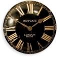 レトロなデザイン魅力です! NEW GATEニューゲート掛け時計 Convex Dial  Wall Clock VEXBLK
