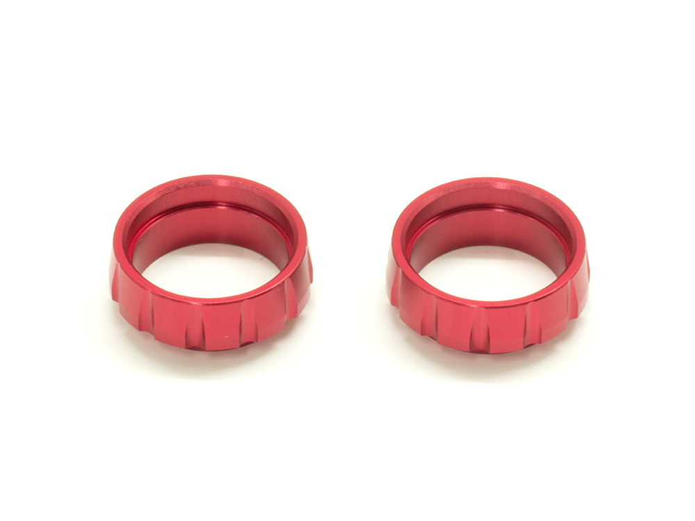 SPRING COLLAR for SHORT SPRING (Red/2pcs)