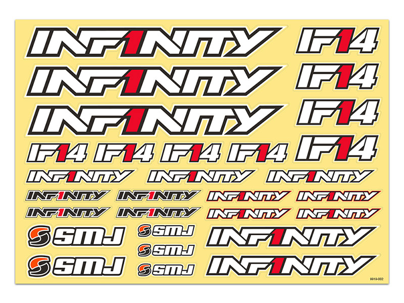 INFINITY IF14 LOGO DECAL