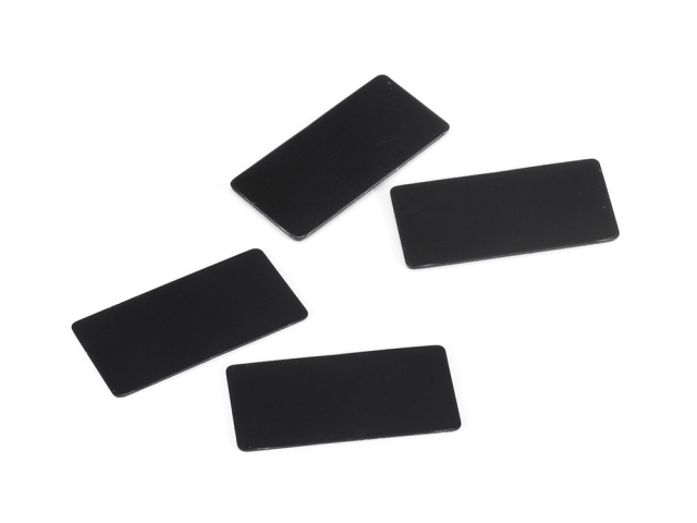 WING ENDPLATE for 1/10 Touring Car (Black/0.8, 0.5mm/each2pcs)