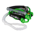 """RONIX Bungee Surf Rope 10"""" Hide Grip-25ft 4Sect. Rope"""
