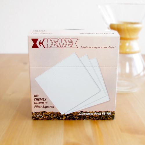 CHEMEX(ケメックス) コーヒーメーカー 6カップ用フィルター(100枚入り)