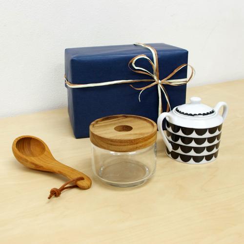 【ギフト】コーヒー雑貨セット(ブラック)