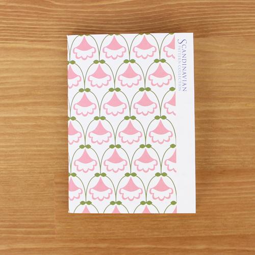 Scandinavian Pattern Collection(スカンジナビアンパターンコレクション) パスポートノート/My Floryd Welin(ミー・フロリド・ヴェリン)