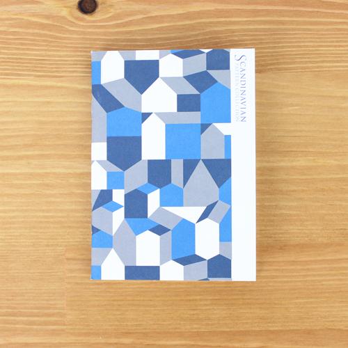 Scandinavian Pattern Collection(スカンジナビアンパターンコレクション) パスポートノート/Fyran(フィーラン)