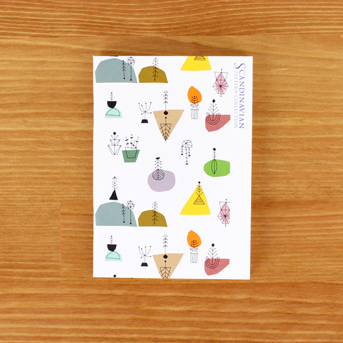 Scandinavian Pattern Collection(スカンジナビアンパターンコレクション) パスポートノート/Edholm Ullenius(エドホルム・ウレニウス)