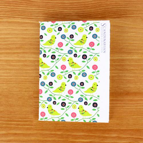 Scandinavian Pattern Collection(スカンジナビアンパターンコレクション) パスポートノート/Anna Berger(アンナ・バリエ)