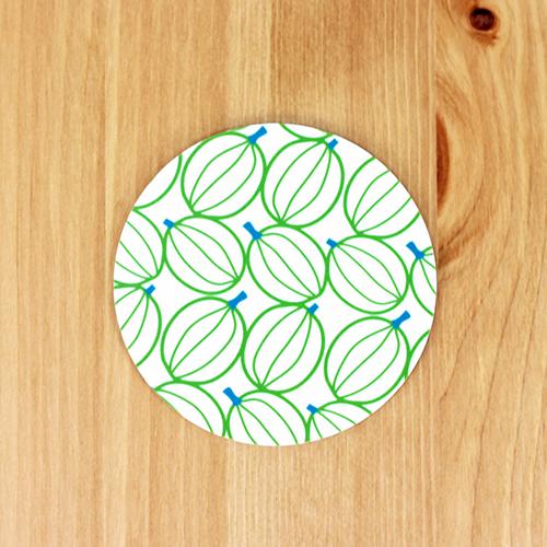 Scandinavian Pattern Collection(スカンジナビアンパターンコレクション) コースター/Gooseberries(グースベリーズ)